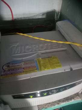 MICROTEK INVERTER WITH BATTERY