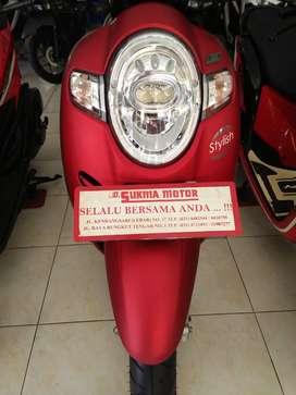 Scoopy Iss 108 Nw merah (W) Honda 2019