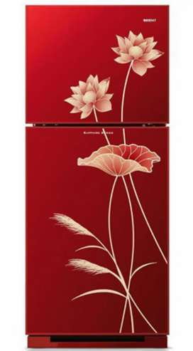 Ruby 280Ltr Top Mount Refrigerator - Blossom Red