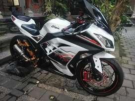 Dijual Ninja 250 fi 2014 akhir pmk 2015