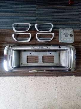 Garnish Chrome set Kijang Kapsul (1997-2004)