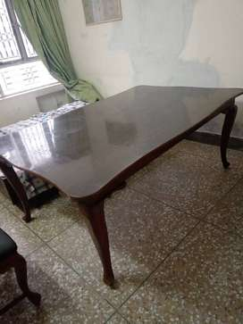Sheesham laakri dining table with chairs