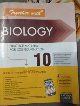Together with (Biology) for class 10th ICSE