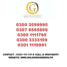 Golden Numbers Jazz and Ufone