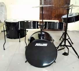 Drum  Set komplit Biasa