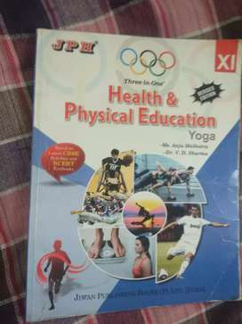 Health and physical education book class 11
