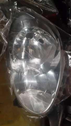 Headlamp nissan march old kiri