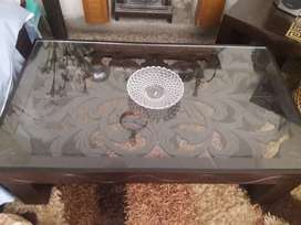 Centre table carved latest design size 47/28