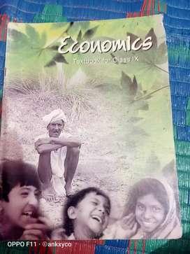 Economics, class 9 NCERT book
