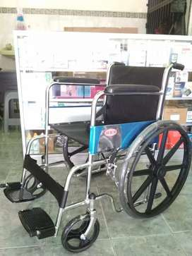 Kursi roda crome lipat velg bintang