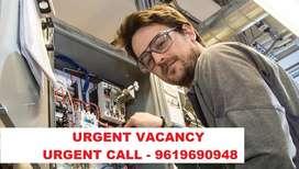urgent vacancy mechanical engineering