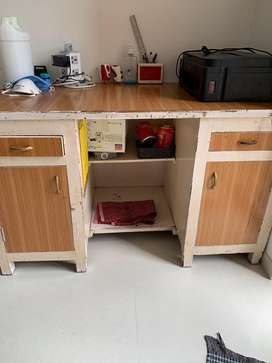 Study table with storage on Sale
