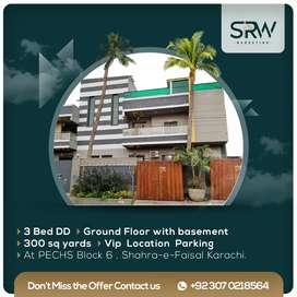Ground Floor Portion and basement for SALE