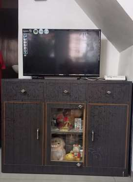 TV unit . Material used- plywood and sunmica