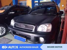 [OLX Autos] Hyundai Santa Fe 2.4 Bensin MT 2001 Hitam #Moarr Motor