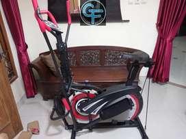 Sepeda statis orbitrek merah 5900