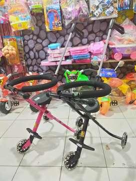 PROMO !! Ezzy Stroller bayi PMB S05 / stroler dorongan anak roda tiga