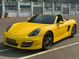 Porsche Boxster 2.7 PDK AT Kuning 2013 - Unit Super Istimewa