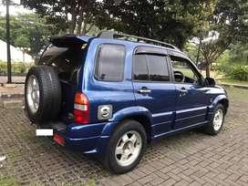 Suzuki Escudo 2001 Body Mulus, Mesin Bagus, AC Dingin