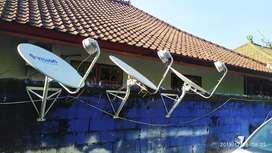 Antena TV Satelit tayangan HD, Free iuran seumur hidup