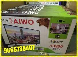 "40"" neo aiwo android 4k ultimate lite ultra hd Slim model"