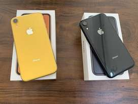 I phone xr 64gb black and yellow clr