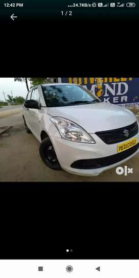 Swift dzire CNG car UBER OLA InDriver attached in Chandigarh