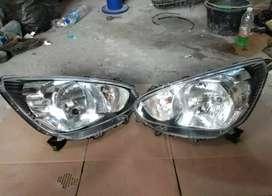 Headlamp mobil mirage bisa satuan