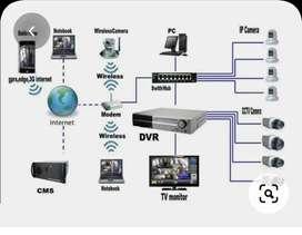 Cctv and IT technician