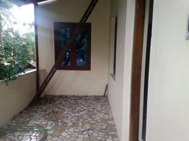 Own house. Up stairs