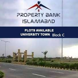 plots available in university Town 25*50 prime location in Islamabad