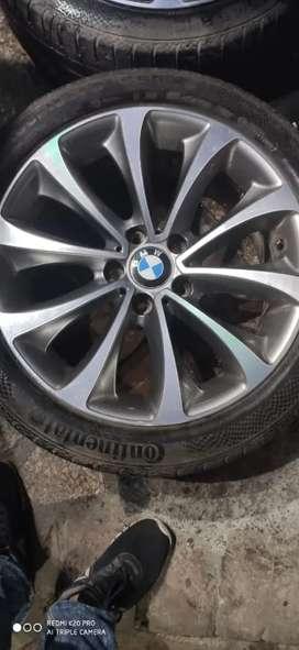 "BMW 18"" ORIGINAL ALLOY WHEEL SET"
