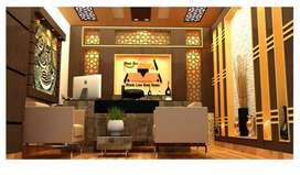 3D, 2D work of House, Office Interior & Exterior