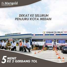 LIBUR BAYAR 1 TAHUN* - Ruko lebar 6 m di Medan Kota Tol Medan Binjai