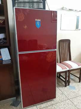 Haier medium size fridge glass door only 2 months use 10/10 condition