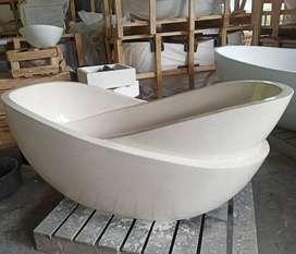 Bath Tub Marmer Terrazzo Bawolato