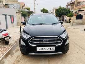 Ford Ecosport 1.5 Titanium Diesel Black Colour.
