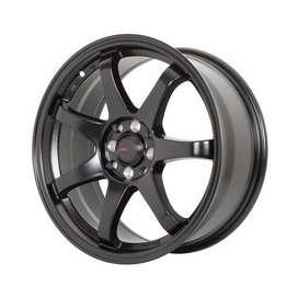 jual velg mobil original hsr wheel ring 17 untuk mazda evalia yaris