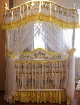 Ranjang Box Bayi / Baby Crib Stellamas