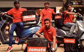Immediately joining food delivery Job's Zomoto