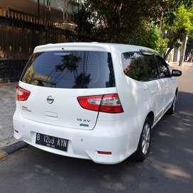 KM 60rban. Nissan New Facelift GrandLivina XV Manual 2014 Putih