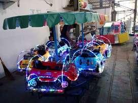 odong mainan eskavator mini kereta panggung siap berlayar M6