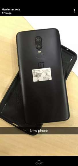 One Plus 6 black 8+128Gb