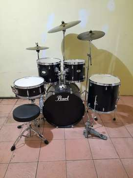1 SET DRUM PEARL FORUM SERIES BEKAS