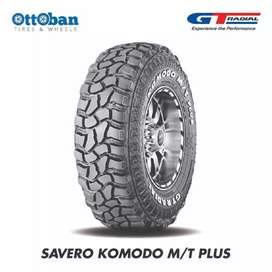 Ban mobil off-road Ukuran 30x9.5 R15 GT radial savero komodo MT plus