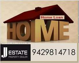 Any Kind Of Home Loan Required Contact  - J.J.ESTATE