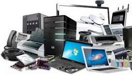 All computers hardware and software worls at low cost