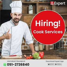 Cook Required on Urgent Basis