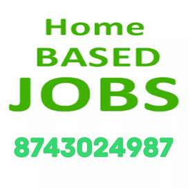 We r looking candidate who join us for typing job