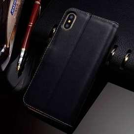 Flip Iphone XS Max IphoneXS Max Wallet Kulit Leather Cover Case Kartu